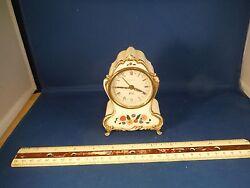 Vintage German Orbros The 3rd Man Alarm Clock Music Box WORKS!!!