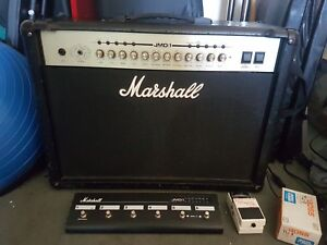 Marshall JMD:1 100W Amp with foot switch pedal and Boss tuner