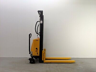 Hoc Ems1016 Semi Electric Pallet Stacker 1000 Kg 2204 Lbs 63 Inch Capacity