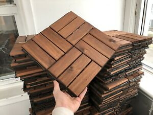 150 Obo Deck Tiles Ikea Runnen 81 Sqft