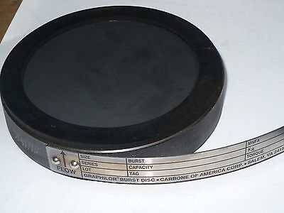 Mcmaster Carr Pc 91942610 Burst Disc Graphilor  Series 3  15 Psig  3   New