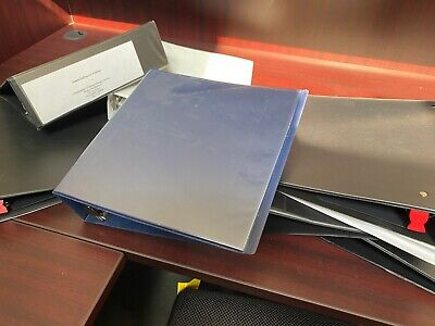 Lot Of 20 3-ring Binders Mixed Sizes