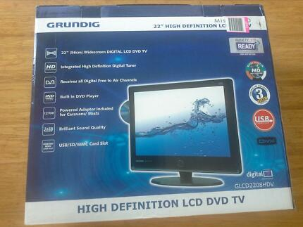 """22"""" 56cm TV inbuilt DVD , CD  & antenna Banora Point Tweed Heads Area Preview"""