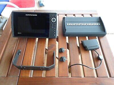 Humminbird Helix 8 Chirp, Mega DI, GPS,  G3N, fishfinder with cover