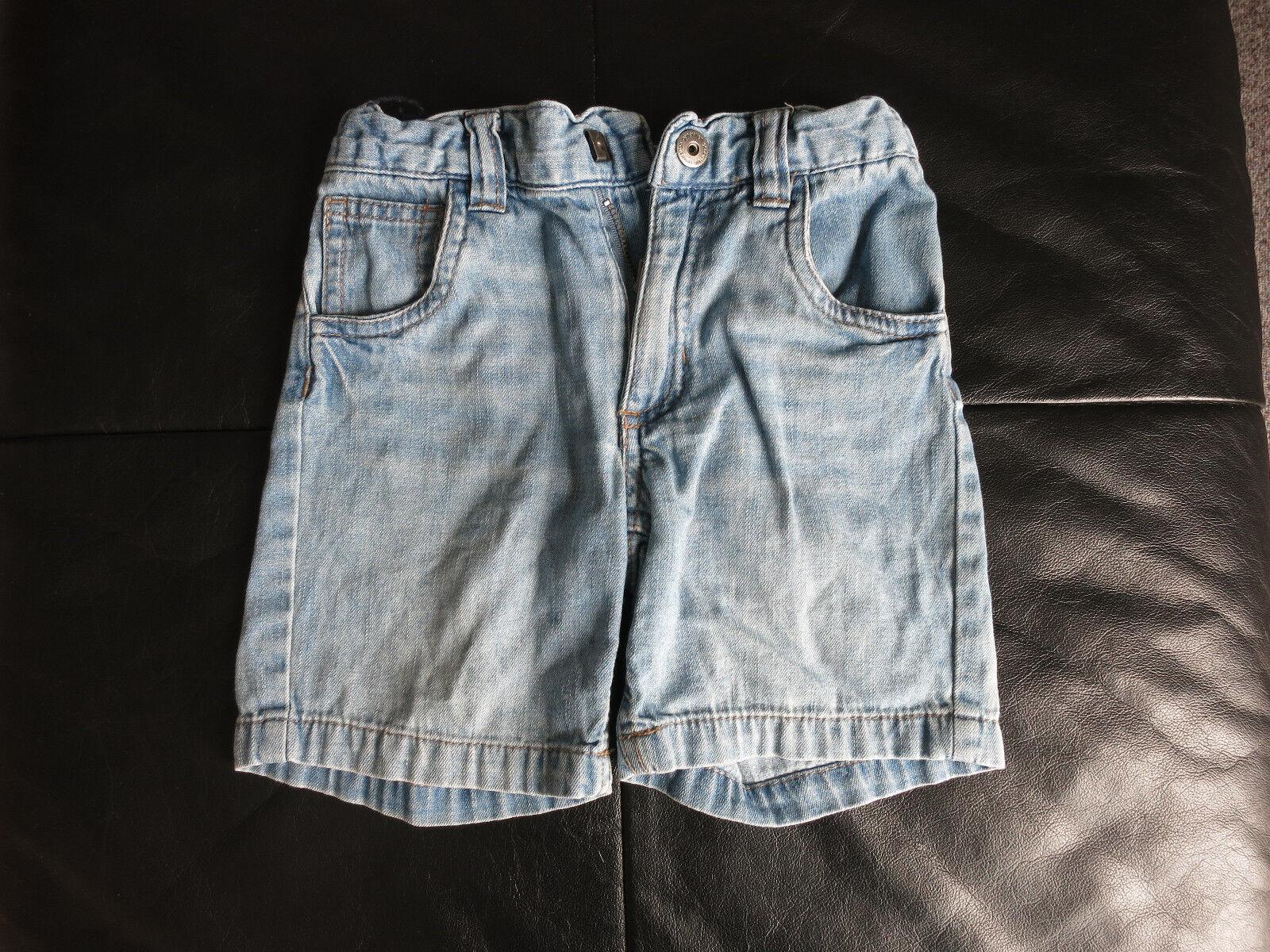 Hosen Kinder Sommerhose Jeanshose kurz Gr. 98_104 Shorts kurze Hosen Jeans