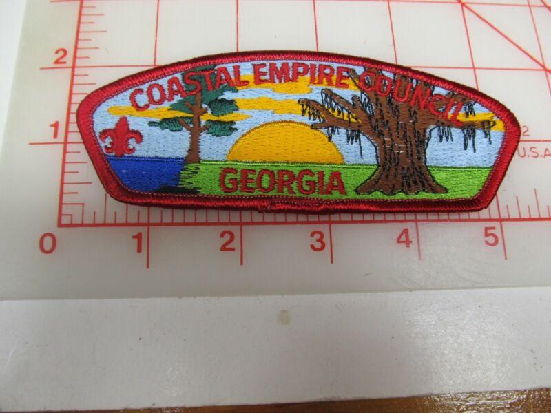Coastal Empire Council CSP collectible PB patch (o34)