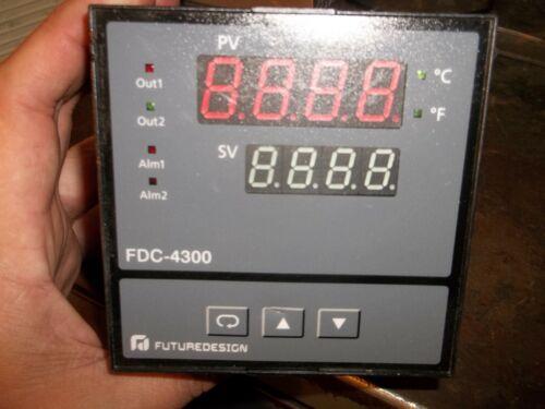 FUTURE DESIGN FDC-4300 TEMPERATURE CONTROLLER (WL65)