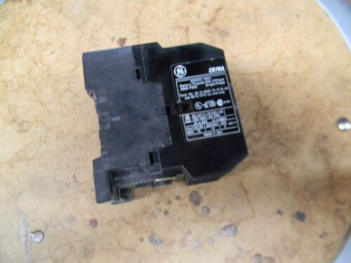 CR7RA General Electric Contactor 600 VAC Max 20 amp  3 phase  24 volt