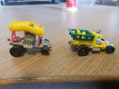 Hot Wheels Zowees Lot of 6, All Original, Near Mint Condition
