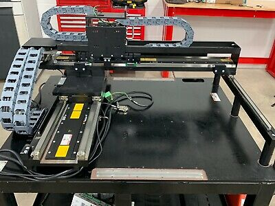 Linear Servo X-y Axis Assembly Completetested With Drives Ecovario