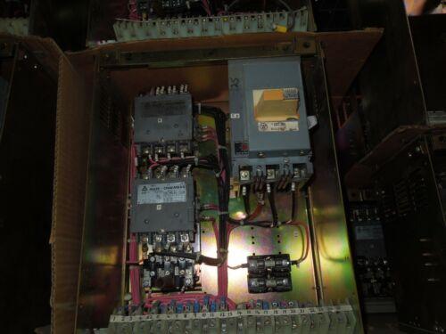 """Siemens Allis Marq 21 Size 1 FVR Starter MCC Bucket 25A 3P Breaker 18""""T"""