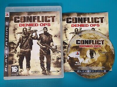 PS3 : conflict denied ops for sale  Shipping to Nigeria