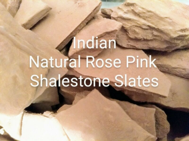 Indian+Natural+Rose+Pink+Shalestone+Slates+35+GRAMS.+P%26P+INCLUDED+FOR+UK+BUYERS.