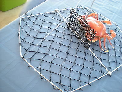 How to use sporty crab traps ebay for Fishing pole crab trap