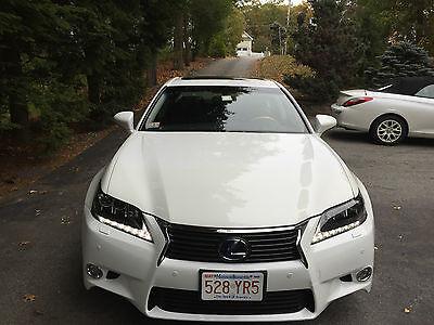 2013 Lexus GS 2013 LEXUS GS450 HYBRYD PEARL WHITE WITH 13600 MILES, WARRANTY