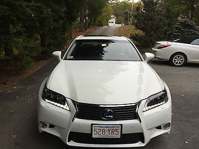 2013 Lexus GS  2013 LEXUS GS450 HYBRYD PEARL WHITE WITH 13600 MILES, WARRANTY