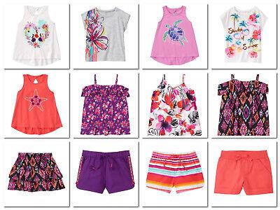 NEW Gymboree summer ISLAND GIRLS tee shorts skorts size 4 5 6 7 8 YOU PICK NWT