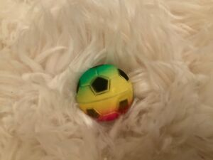 Rainbow Bouncy Ball