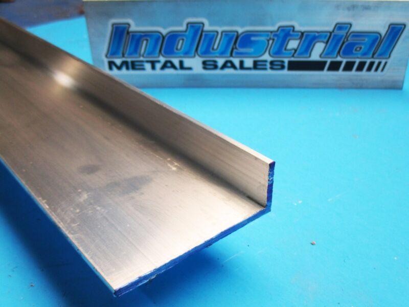 "1"" x 3"" x 12"" Long x 1/8"" Thick 6063 T52 Aluminum Angle-->1"" x 3"" x 1/8"" Angle"