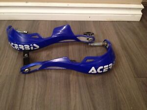 Blue hand guards