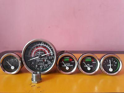 Massey Ferguson Mf Tractor Gauge Tachometer Set Mf35 Mf50 Mf65 To35 F40 Mh50