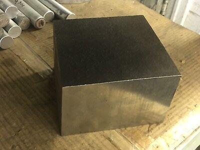 4 X 5.75 X 5.75 Long 304 Ss Stainless Steel Flat Bar Plate