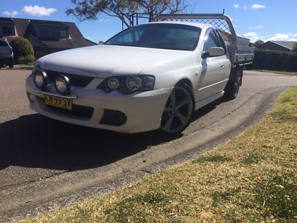 2005 xr6 turbo  work ute - low Kms with log books