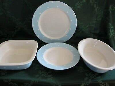 - Spode Baking Days Light Blue Dinnerware CHOICE