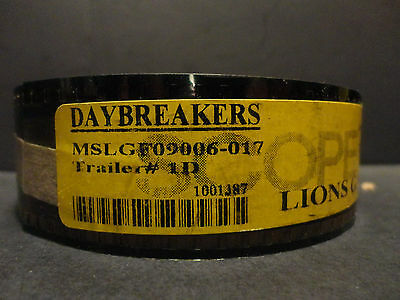 Daybreakers  2009 35mm Movie Trailer #1D  Film  Collectibles SCOPE 2min25sec - Halloween Trailer