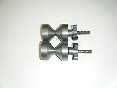Davis 2-two Hole Pin-carbon Steel- 38-16 With Quick Knobs.