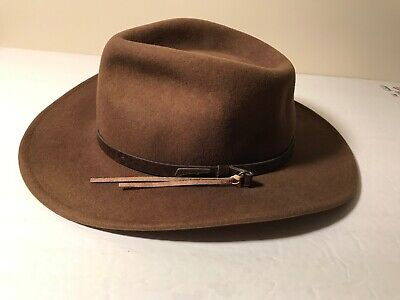 Indiana Jones Fedora Hat Size XL - Genuine Licensed by Dorfman Pacific SEE VIDEO