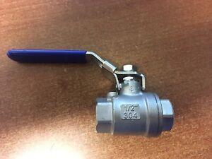 """Stainless Steel ball valves 1/2"""" 1000 psi"""