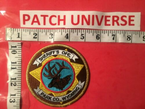 PARK  COUNTY  WYOMING SHERIFF  SHOULDER PATCH  O114