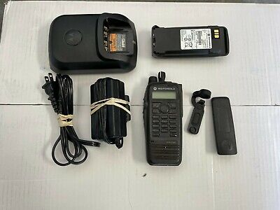 Motorola Xpr6580 Aah55uch9lb1an 800 900 Mhz Portable Two Way Radio Privacyplus