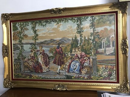 Antique hand canva wall decoration frame Doncaster area