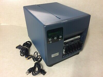 Pitney Bowes J693 Thermal Barcode Label Printer Transfer W Cables