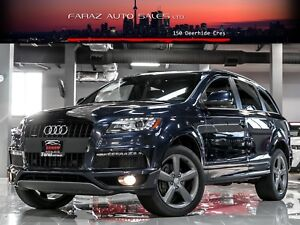 2014 Audi Q7 TDI|S-LINE|NAVI|REAR CAM|PANO|PUSH START