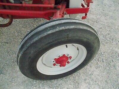 Ford 8n Tractor Front 6.00 X 16 Tri Rib Tire 92 Tread Pressed Steel Rim