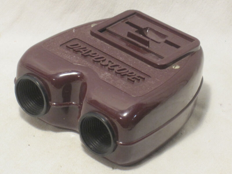 rare vintage DIAPOSCOPE France Brevete slide viewer view 24 x 36