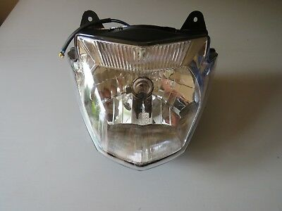 NEW <em>YAMAHA</em> YBR125 YBR 125 2014 17 HEADLIGHT HEAD LAMP LIGHT ASSEMBLY E