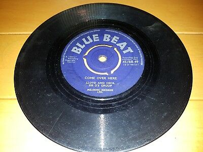 "C. Byrd & Sir D's Group – Ba Ba Black Sheep 1961 UK BLUE BEAT 7"""