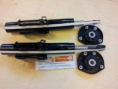 VW CRAFTER 2 X FRONT SHOCK ABSORBERS 2.0 2.5 + 2 X STRUT TOP MOUNTS (2006-2017)