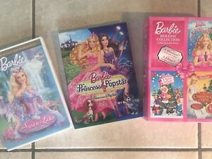Barbie lovers alert! Classic Barbie dvds  incl. holiday edition!
