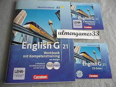 Lehrer ★ English G 21 A5 Abschlussband Workbook Lösungen G 8 ★ Lehrerfassung