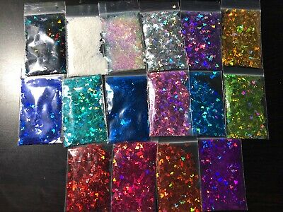 Solvent Resistant MICKEY MOUSE shape Glitter U Choose Color Nail Art Face Crafts](Mickey Mouse Colors)