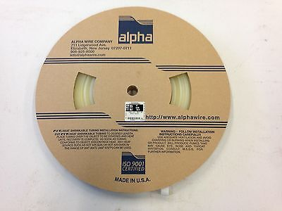 Alphawire Fit-221-12 Heat Shrink Tubing - Clear - Full Roll - 150 Ft