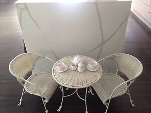 Shabby Chic table and chairs set Sylvania Waters Sutherland Area Preview