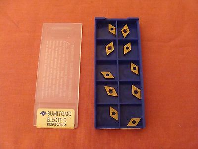 New Old Stock Sumitomo Dcmd831 Dcmw070204 Ac300g Carbide Inserts Lot Of 10