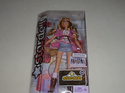 New In Box Stardoll Barbie Doll Blonde Hair W2198 Mattel 2011 Nib