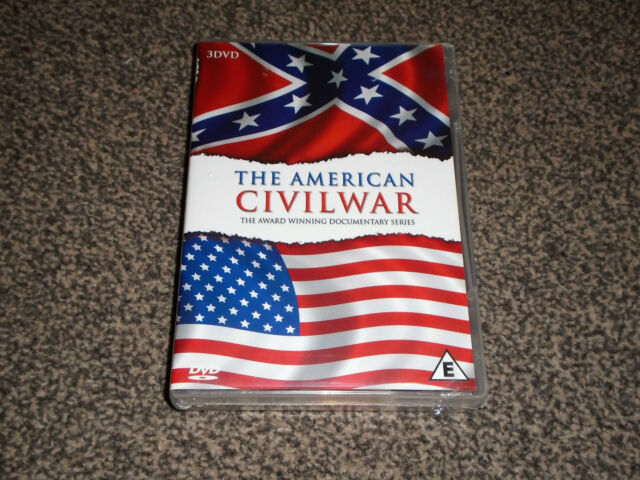 THE AMERICAN CIVIL WAR : AWARD WINNING DOCUMENTARY NEW DVD BOXSET (FREE UK P&P)